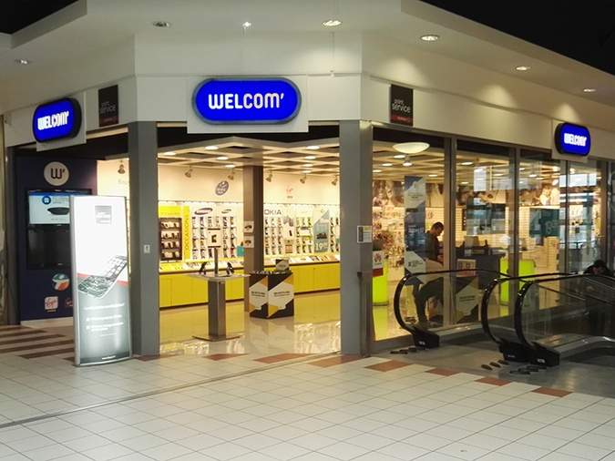 Shop in shop Point Service Mobiles Welcom Clermont Ferrand CC
