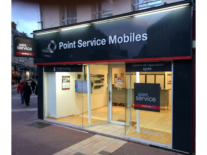 Point Service Mobiles Cherbourg