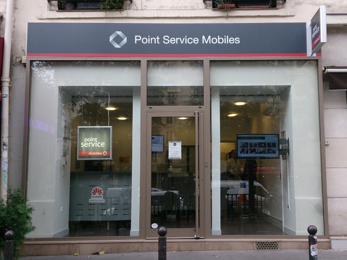 Point Service Mobiles Paris République