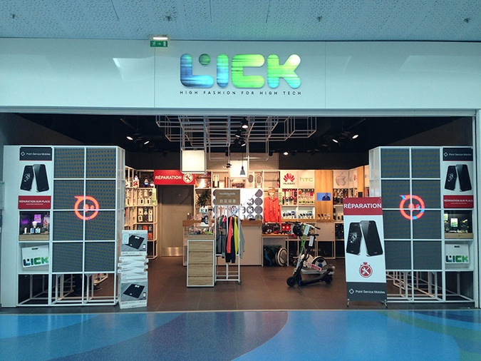 Shop in Shop Lick - Point Service Mobiles Montpellier Odysseum