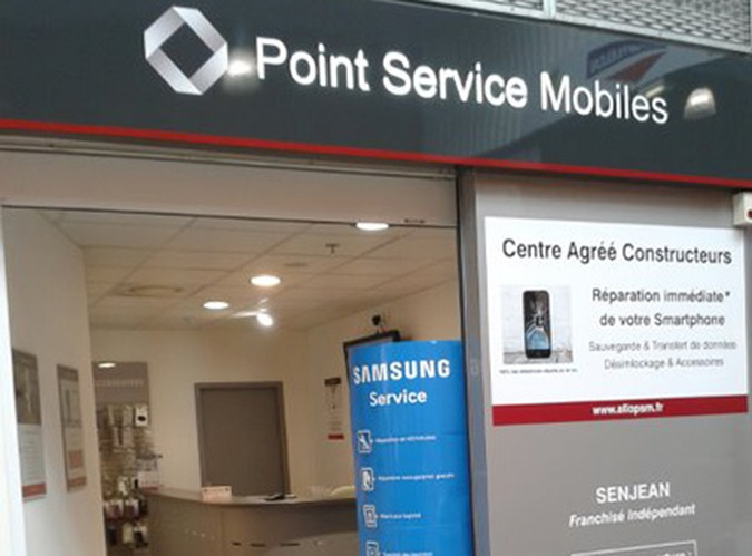 Point Service Mobiles Dax