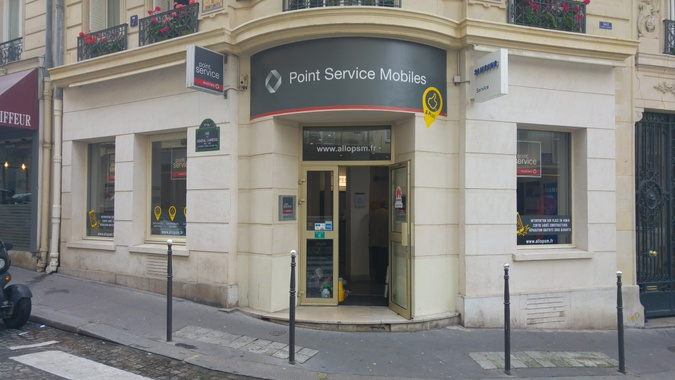 Shop in shop Point Service Mobiles Welcom Bourges Centre Commercial