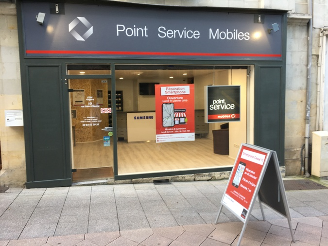 Point Service Mobiles Angers Centre-Ville
