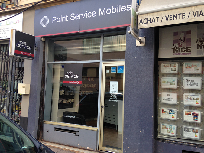 Point Service Mobiles Nice