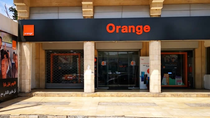 Orange store Irbid Univ Str.
