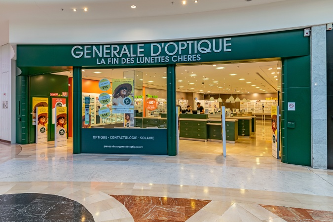 Opticien Générale d'Optique MARSEILLE GRAND LITTORAL