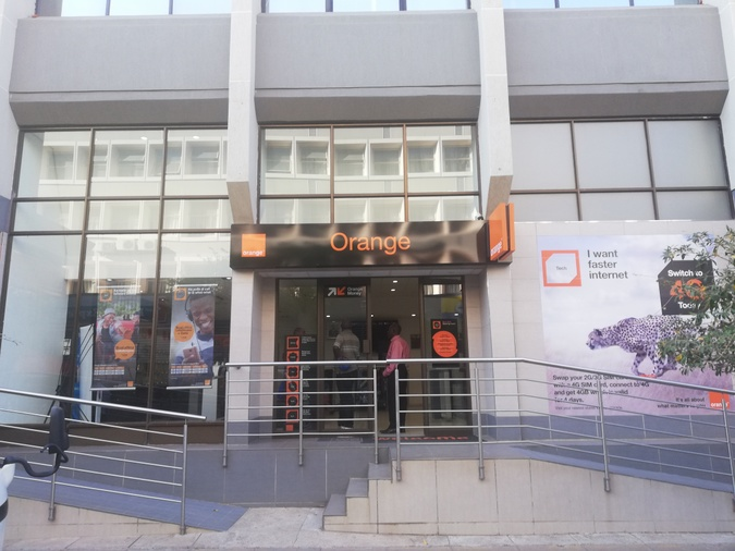 Gaborone Orange shop Main Mall