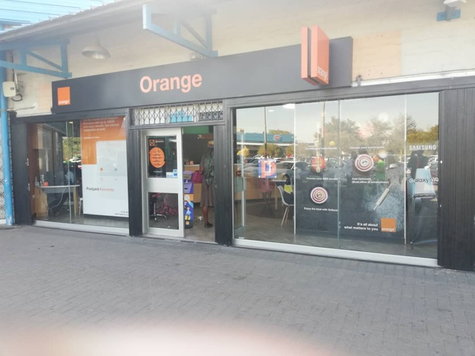 Orange shop Nzano Centre