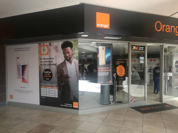 Gaborone Orange Shop Riverwalk