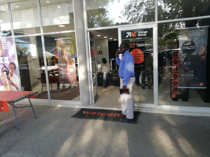 Orange shop Maun Mall Extension Agora Projects Building