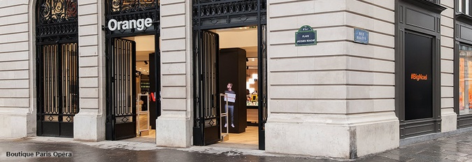 Boutique Orange Opéra - Paris 9