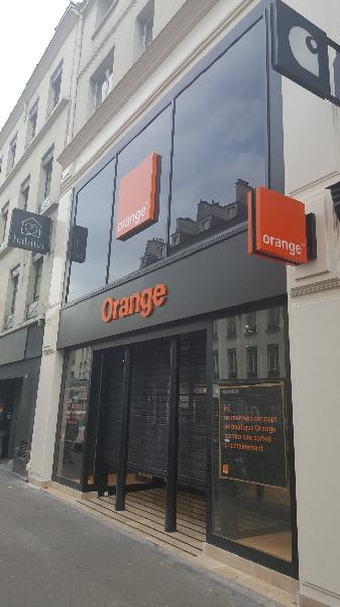 Boutique Orange Bastille - Paris 12