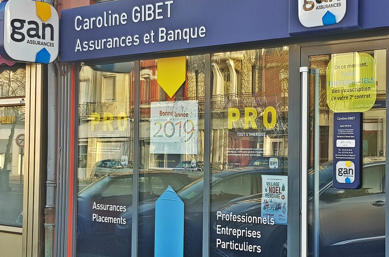 GAN ASSURANCES PERONNE FLAMICOURT