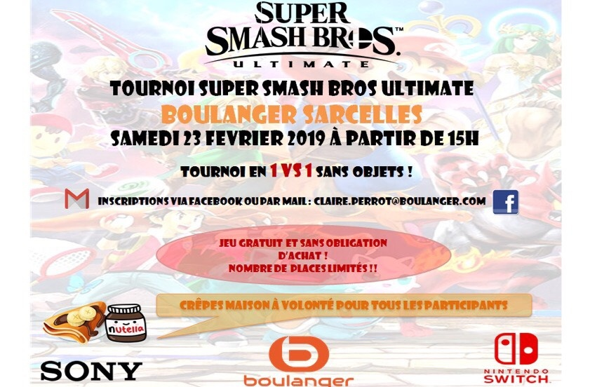 Tournoi Super Smash Bros Ultimate
