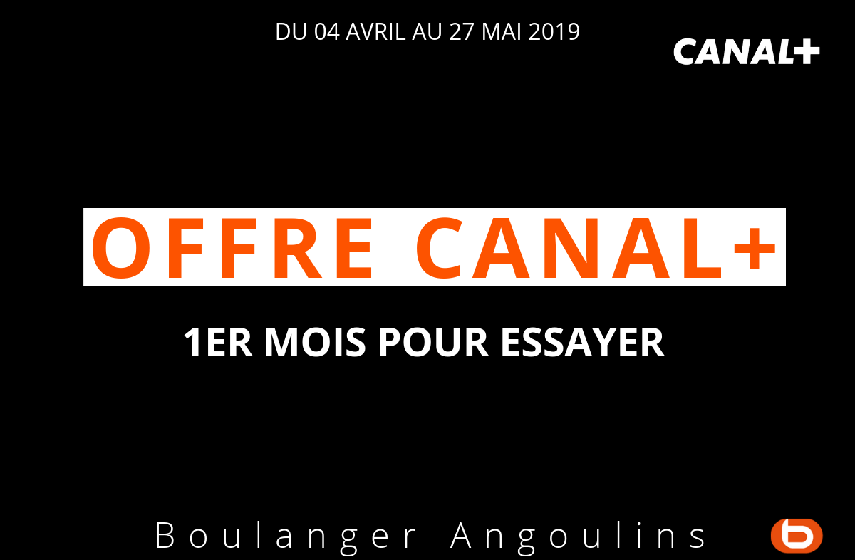 Offre Canal +