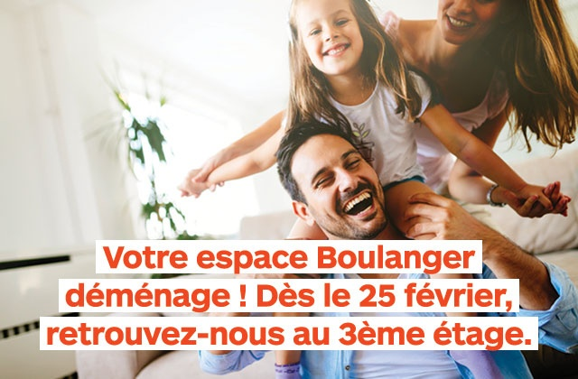 On déménage !