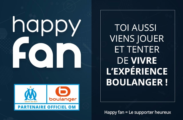 Happy Fan avec l'OM