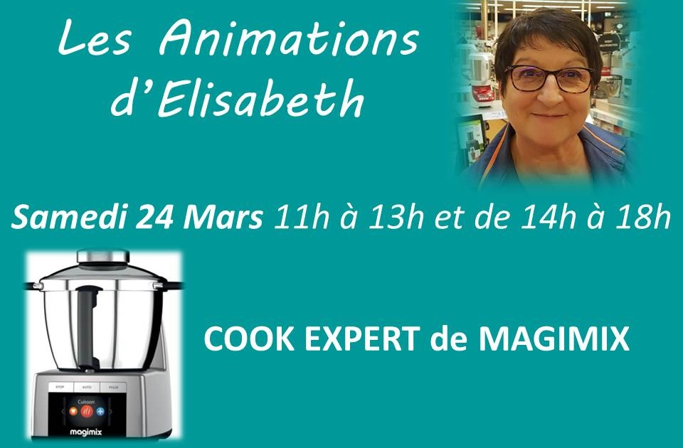 Animation MAGIMX Cook expert