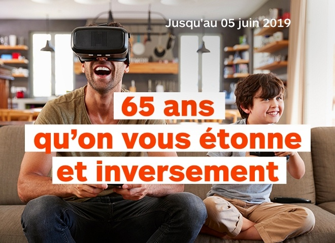 65 ans d'innovations