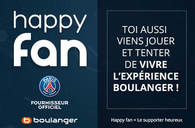 Happy fan avec le PSG