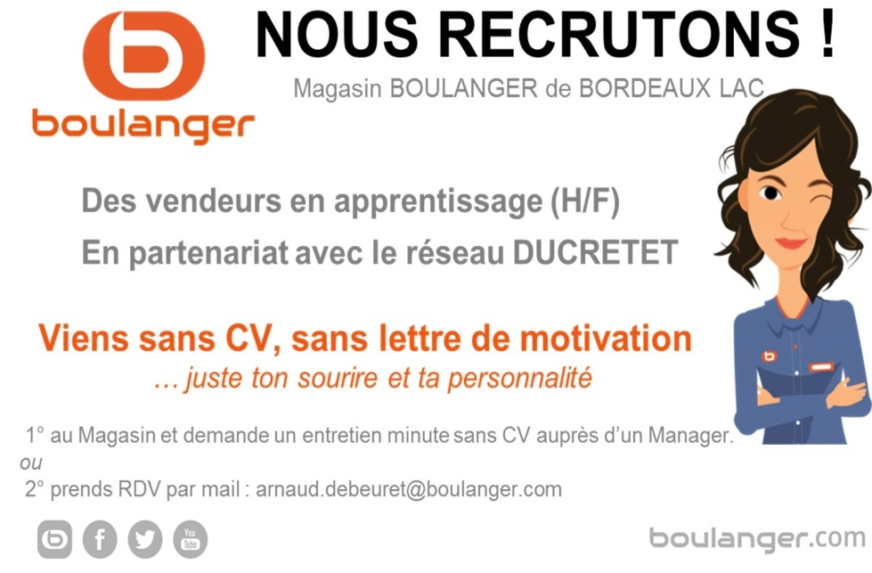 RECRUTEMENT D'APPRENTIS