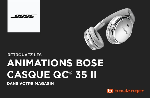 Animation Bose QC35 II