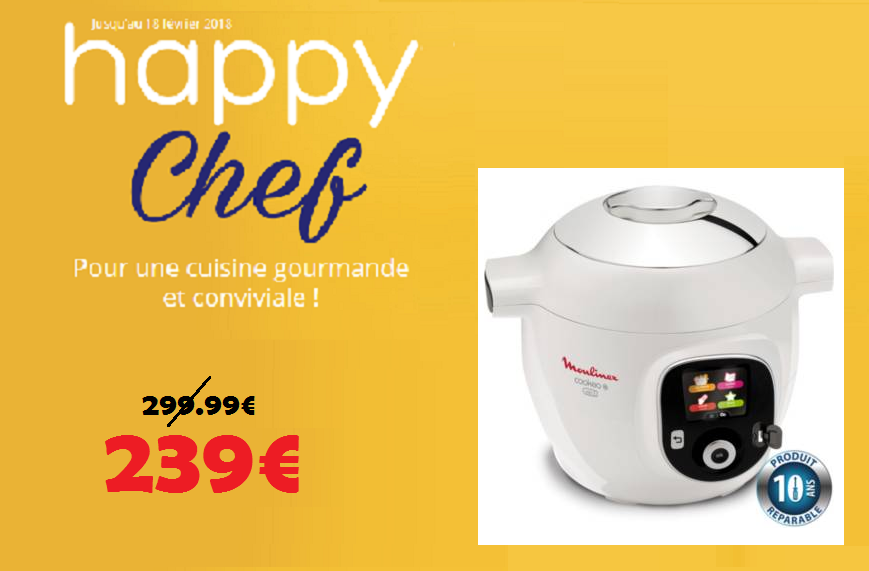SELECTION HAPPY CHEF , COOKEO USB CE853100