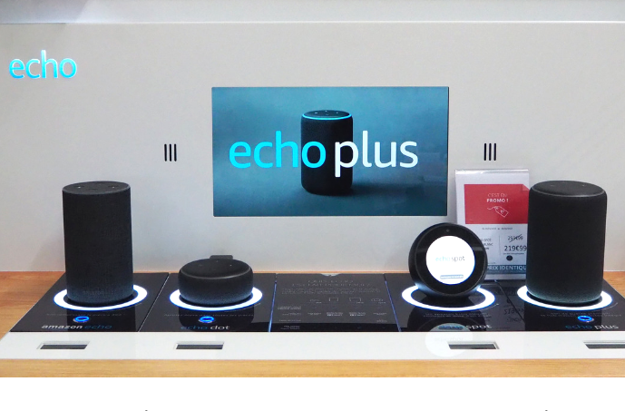 Assistants vocaux Echo Plus