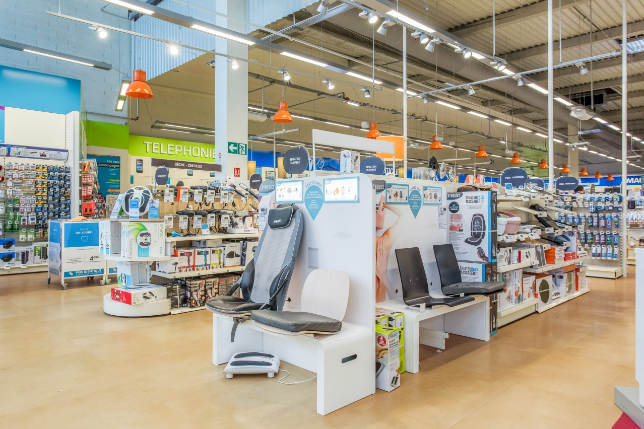 Magasin boulanger a toulouse