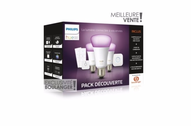 Philips Hue, le pack exclusif Boulanger