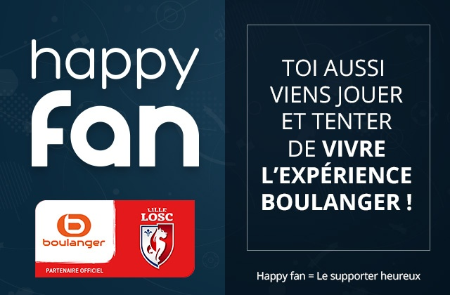 Happy Fan avec le LOSC
