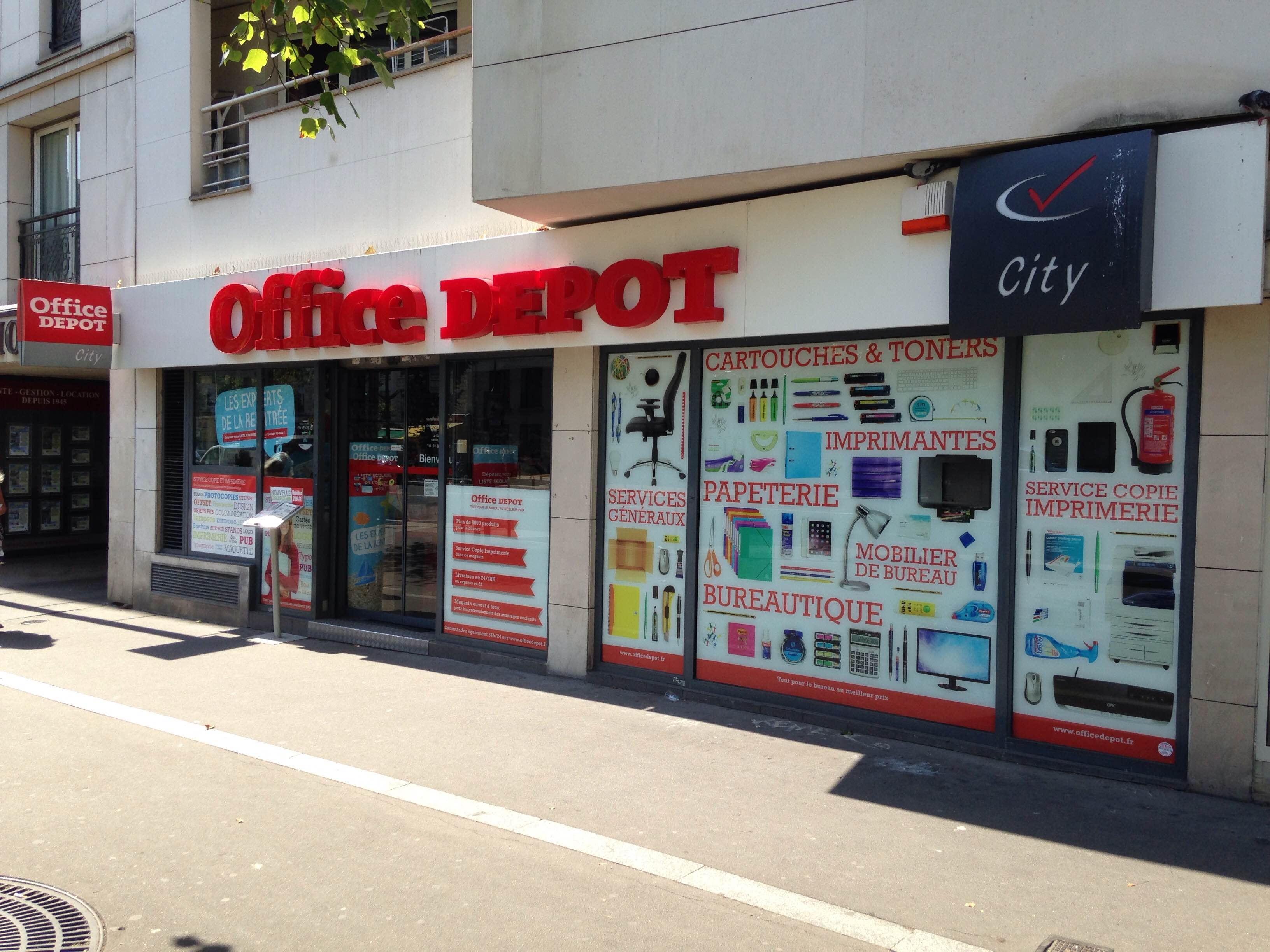 Magasin office depot paris ème italie fournitures mobiliers