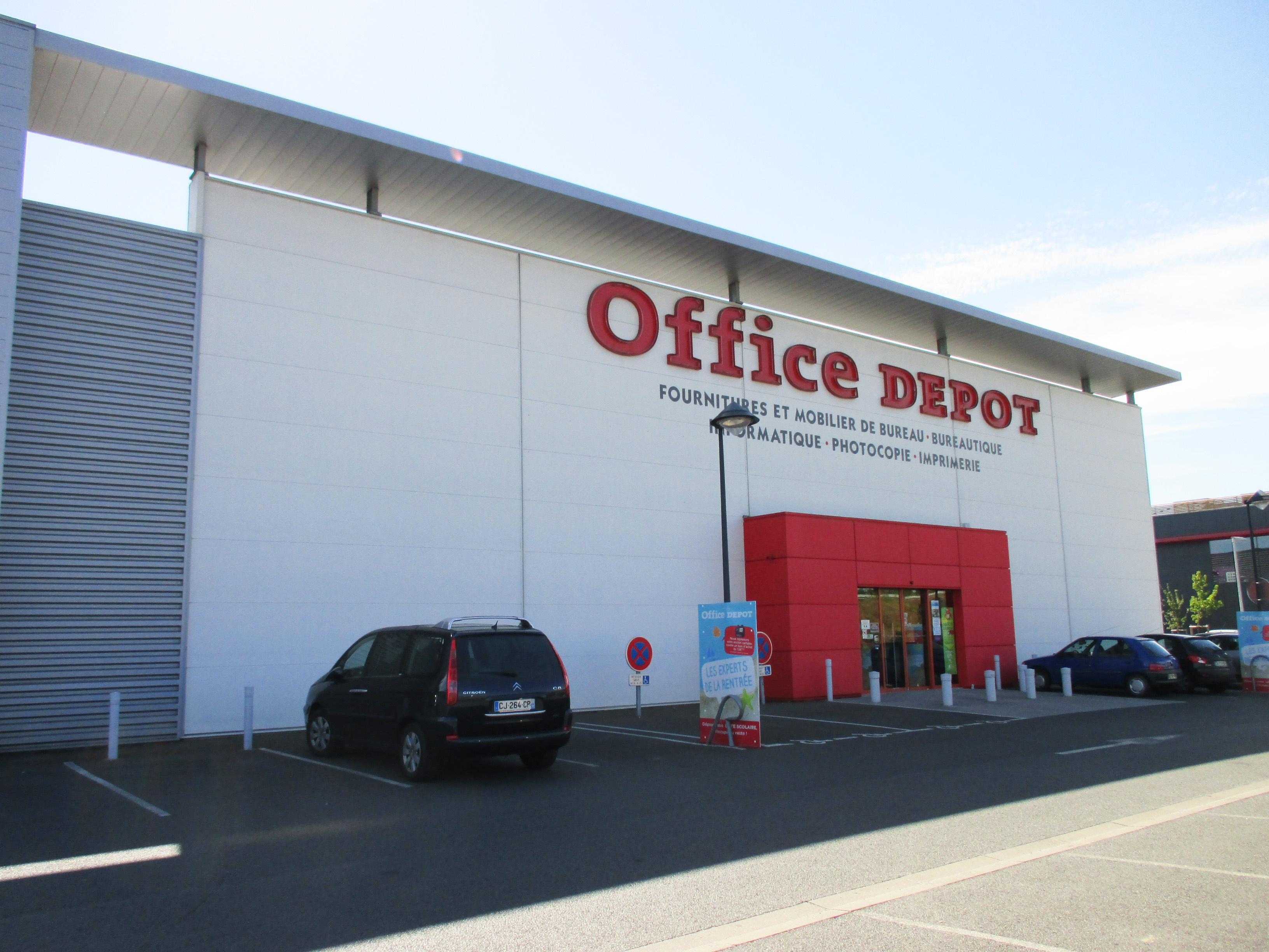 magasin office depot angers : fournitures, mobiliers de bureau