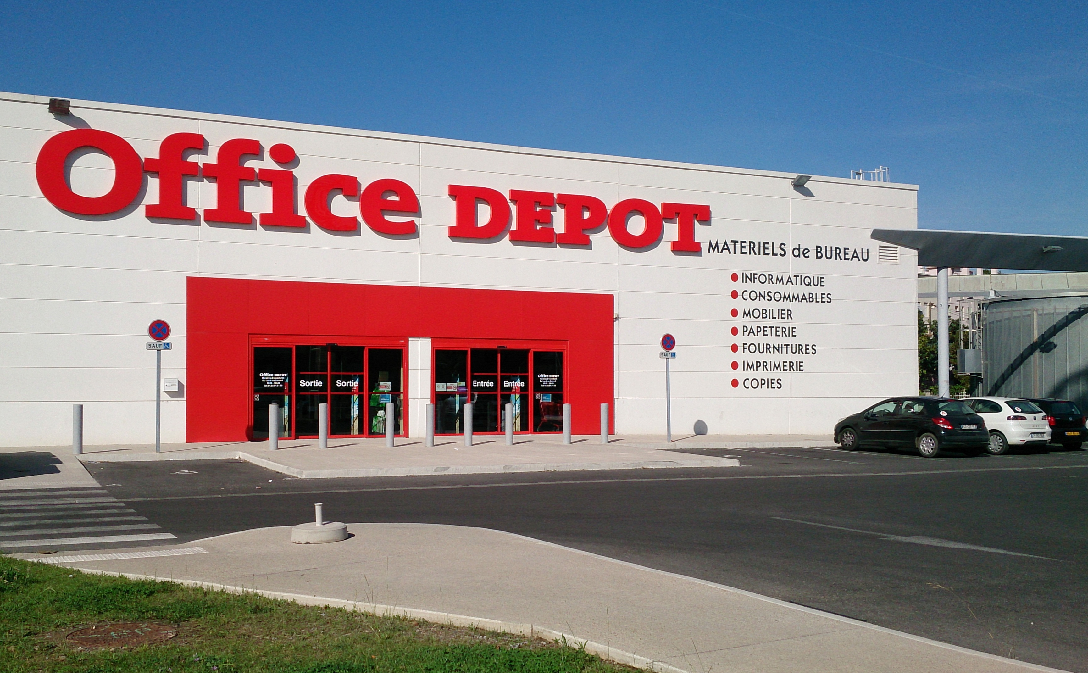 Magasin office depot nîmes fournitures mobiliers de bureau