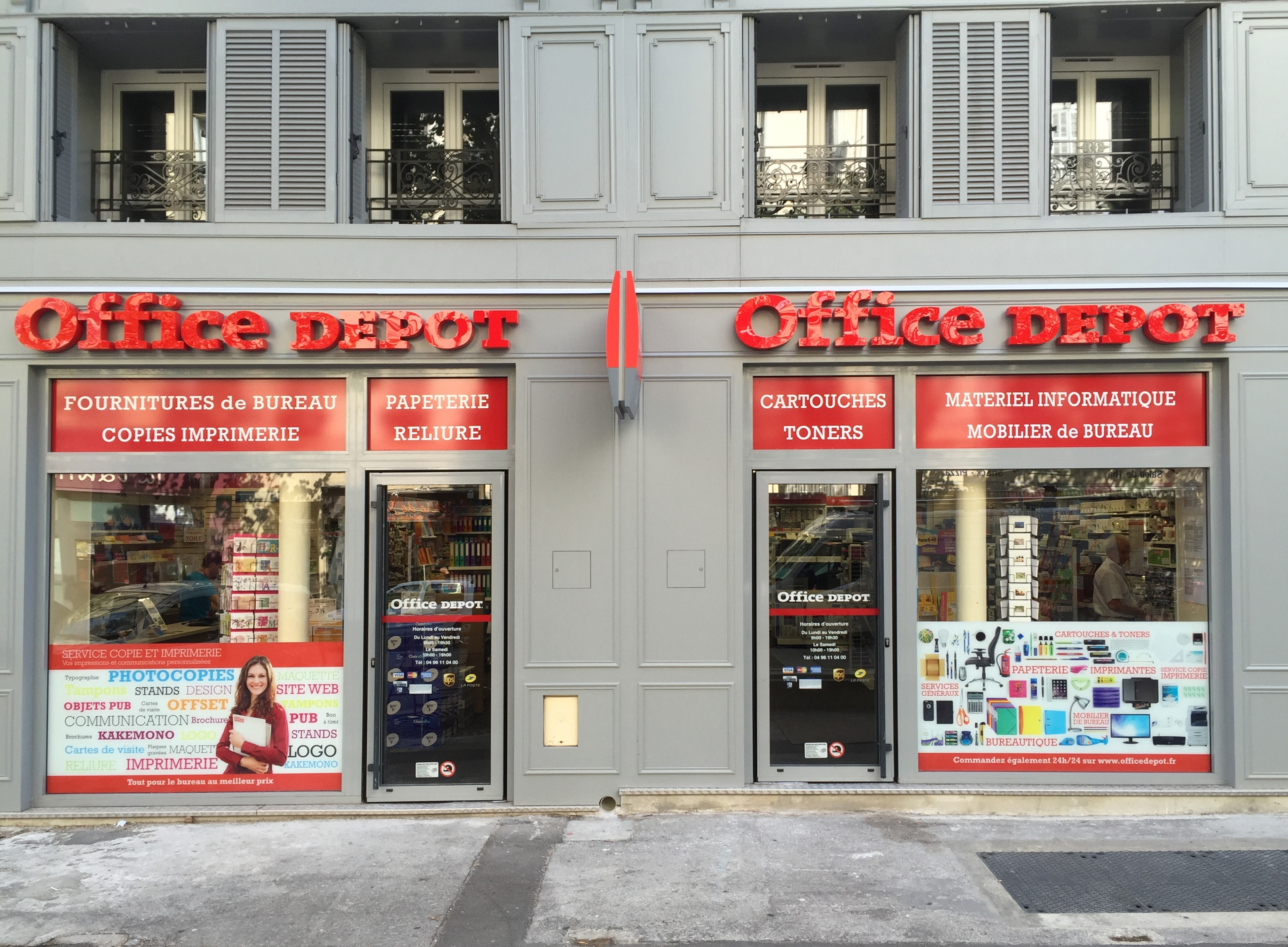 Magasin office depot marseille joliette fournitures mobiliers
