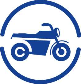 Services Motocycle icon