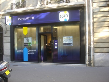 GAN ASSURANCES PARIS WAGRAM 1